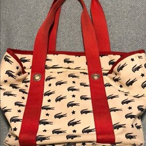 MUST GO! Lacoste tote bag